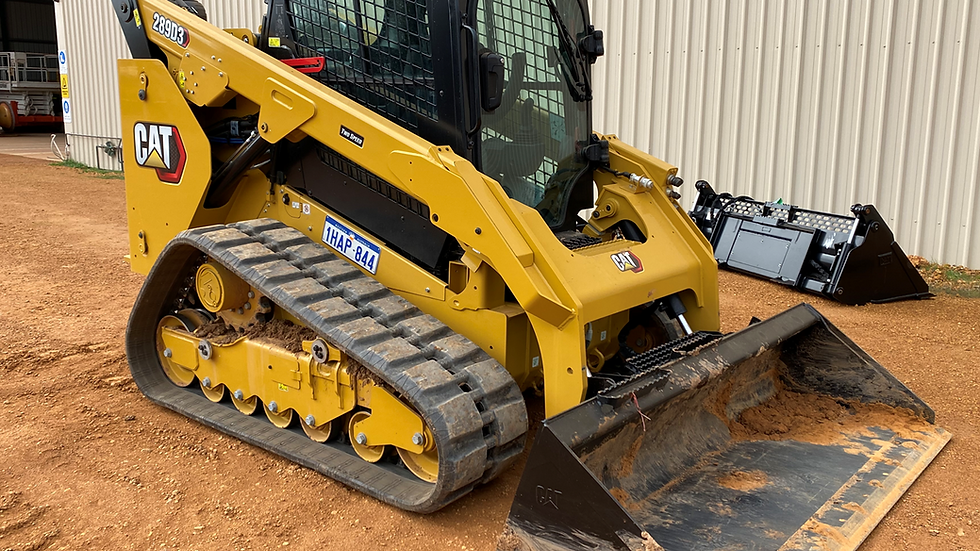 Caterpillar 289D3 Track Skid Steer