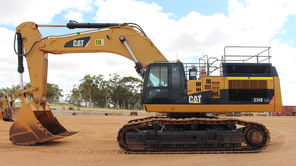 Caterpillar 374D  LME Excavator
