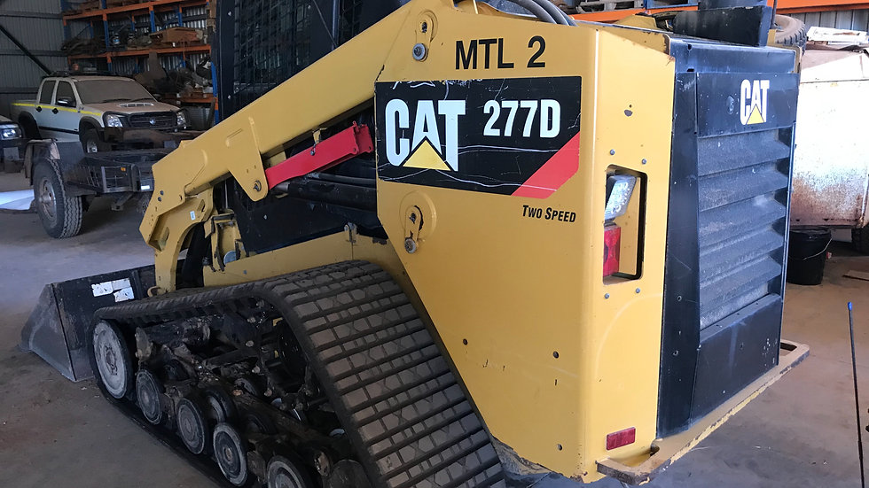 Cat 277 Tracked Skid Steer