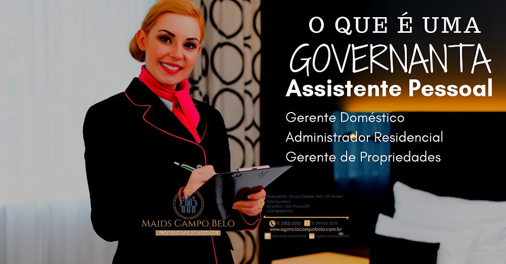 O que é uma Governanta?