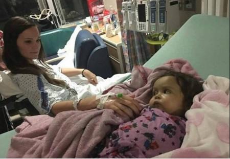 Babá arriscou a própria vida para salvar a vida de bebê