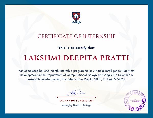 Certificate Lakshmi.png