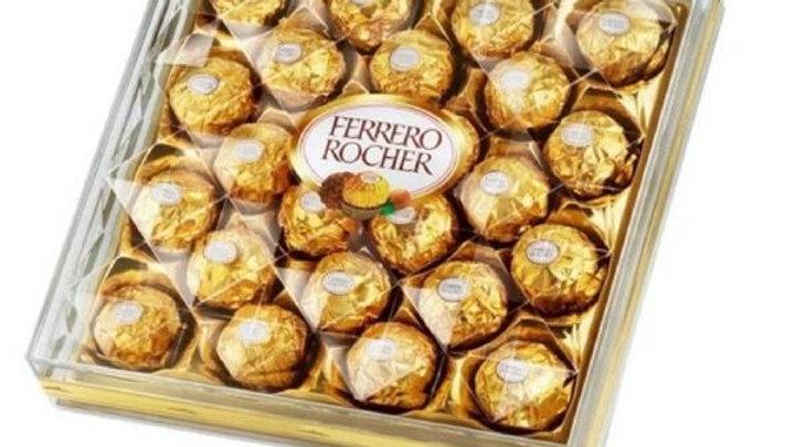 24 Pcs Ferrero Rocher Box