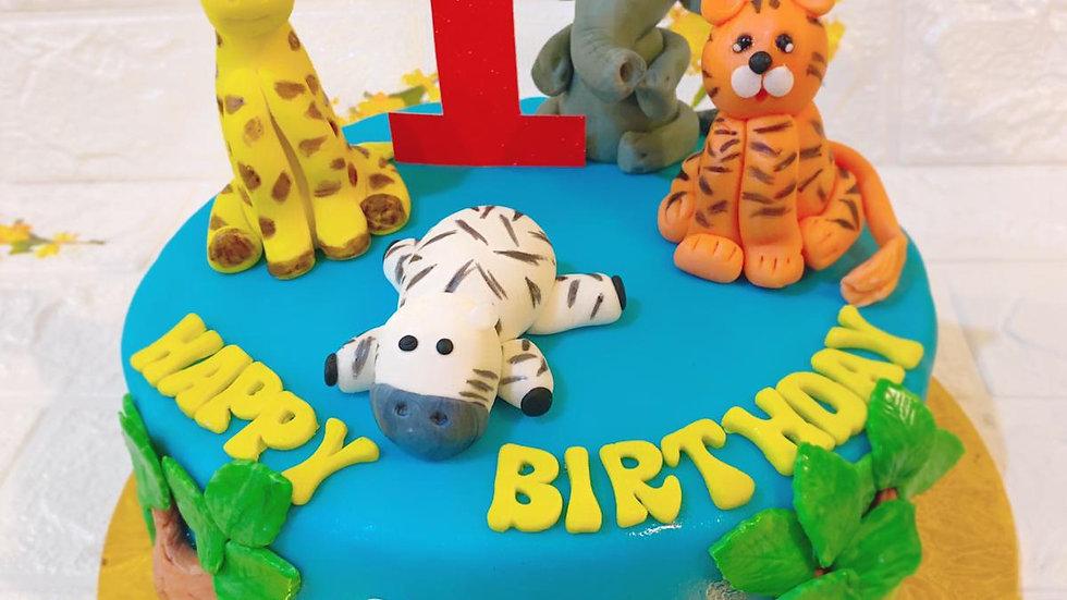 8 Inch Birthday Cake