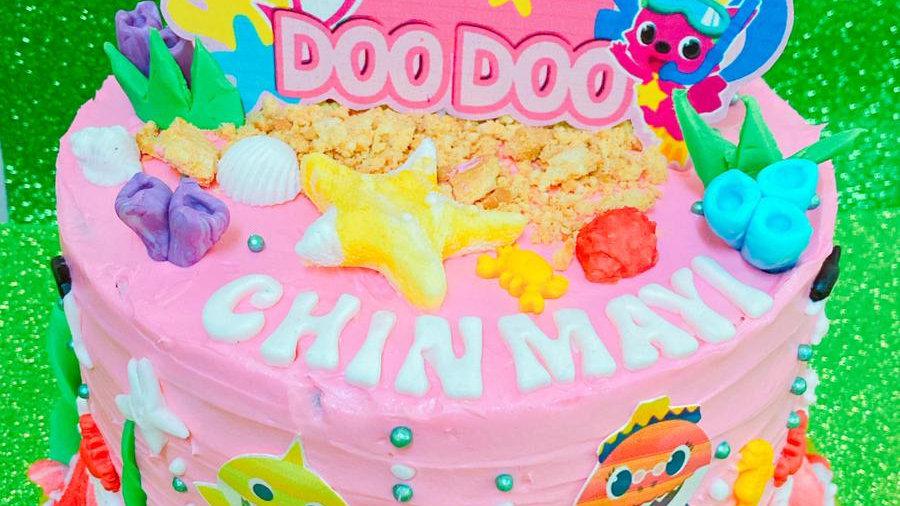 7 inch cake Birthday Cake