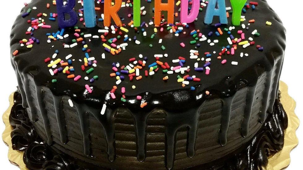 Dark Chocolate Cake FREE Candle