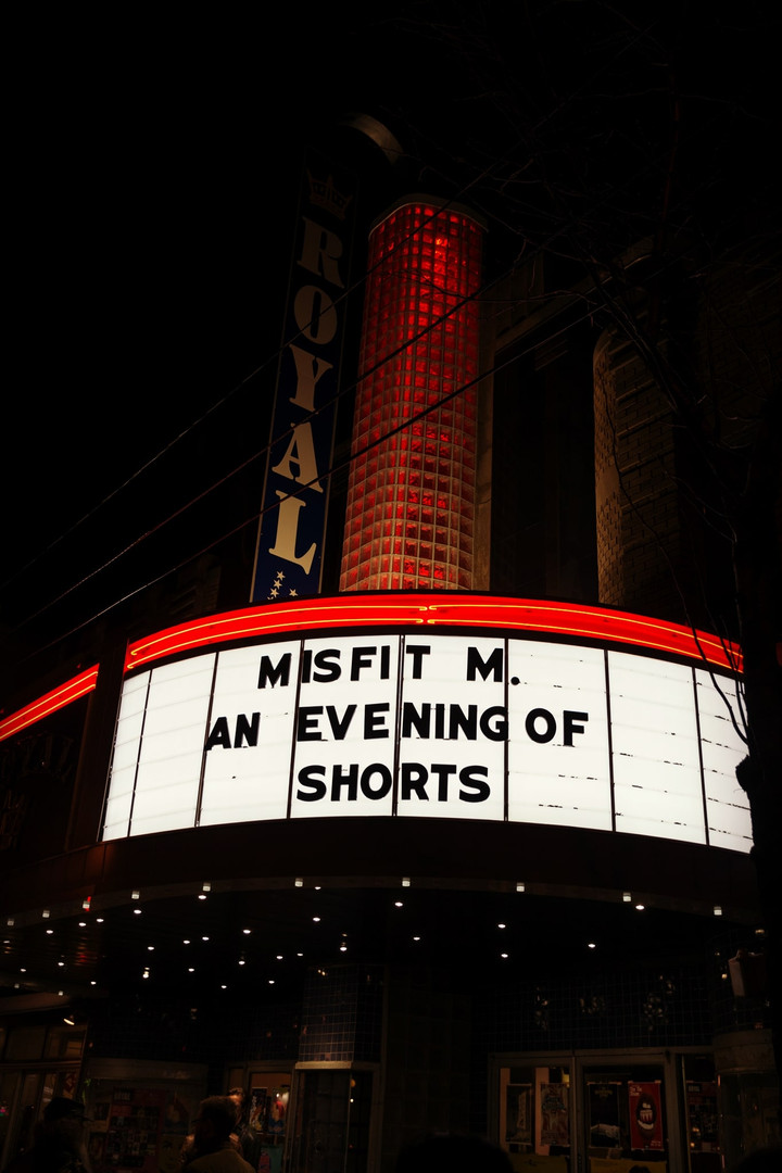 Private screening of 'Misfit M.', '8+ Weeks' and 9 other shorts hosted by Lockeport Productions at The Royal in Toronto, ON