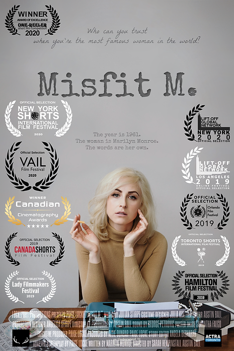 'Misfit M.' Laurels updated august 2020.