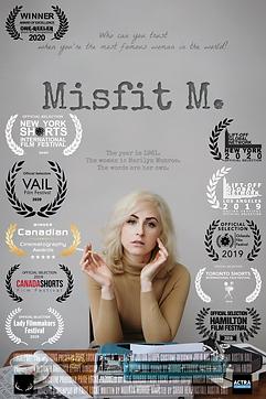 'Misfit M.' Laurels updated august 2020.