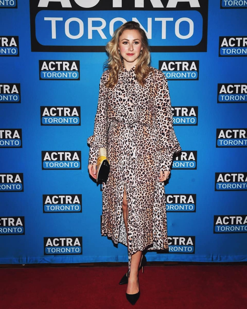 Paige Locke at the 2019 Actra Awards in Toronto, ON