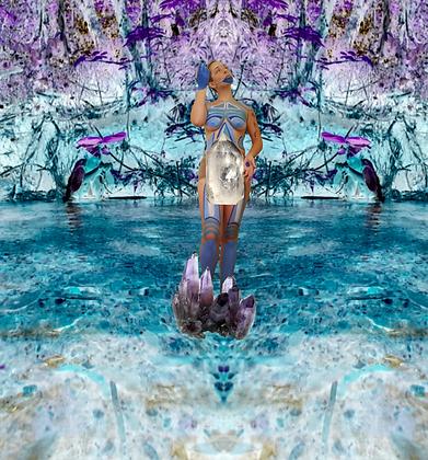 Barcorpo Seres Azul Cianita - a deriva em mim