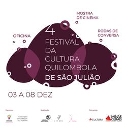Realização do 4 Festival da Cultural Quilombola de São Julião.