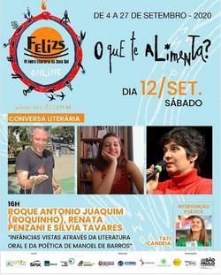Participação na FELIZS: VI Feira Literária da Zona Sul.
