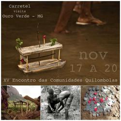 XV Encontro das Comunidades Quilombolas.