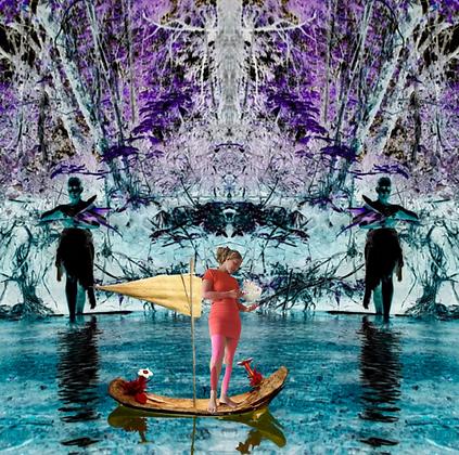 Barcorpo Seres Violeta - a deriva em mim