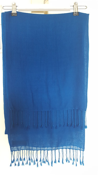 Torquise Blue Scarf