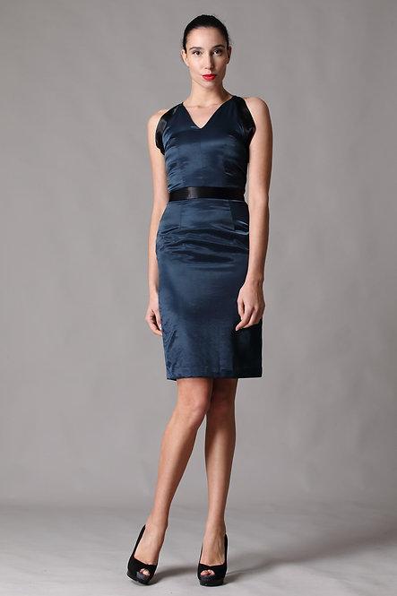 Galaxy Color Block Dress