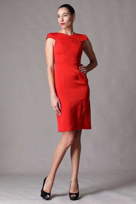Cosmic Red Dress