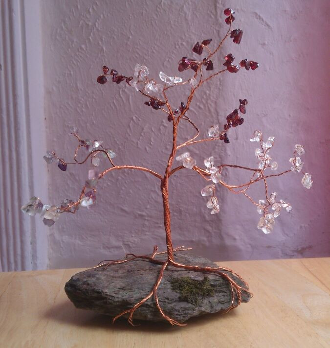 First ever wire and bead tree pre Twysted Roots