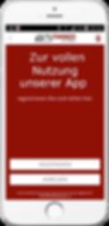 Fleischer-App / Metzger-App Registrierung Schritt 1