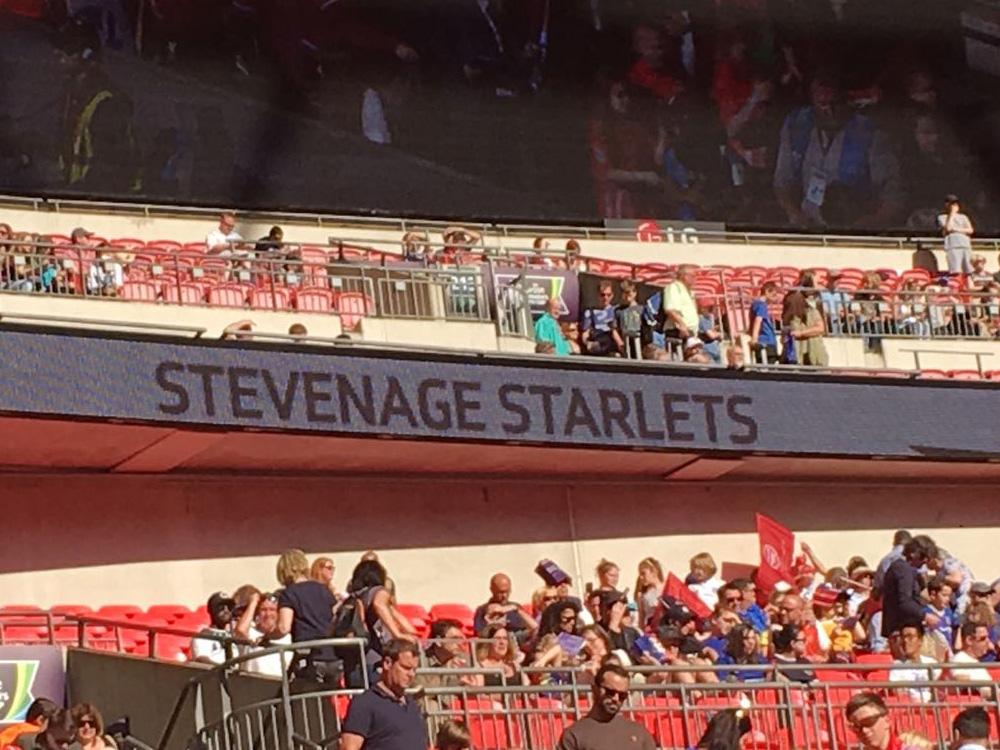 Starlets at Wembley