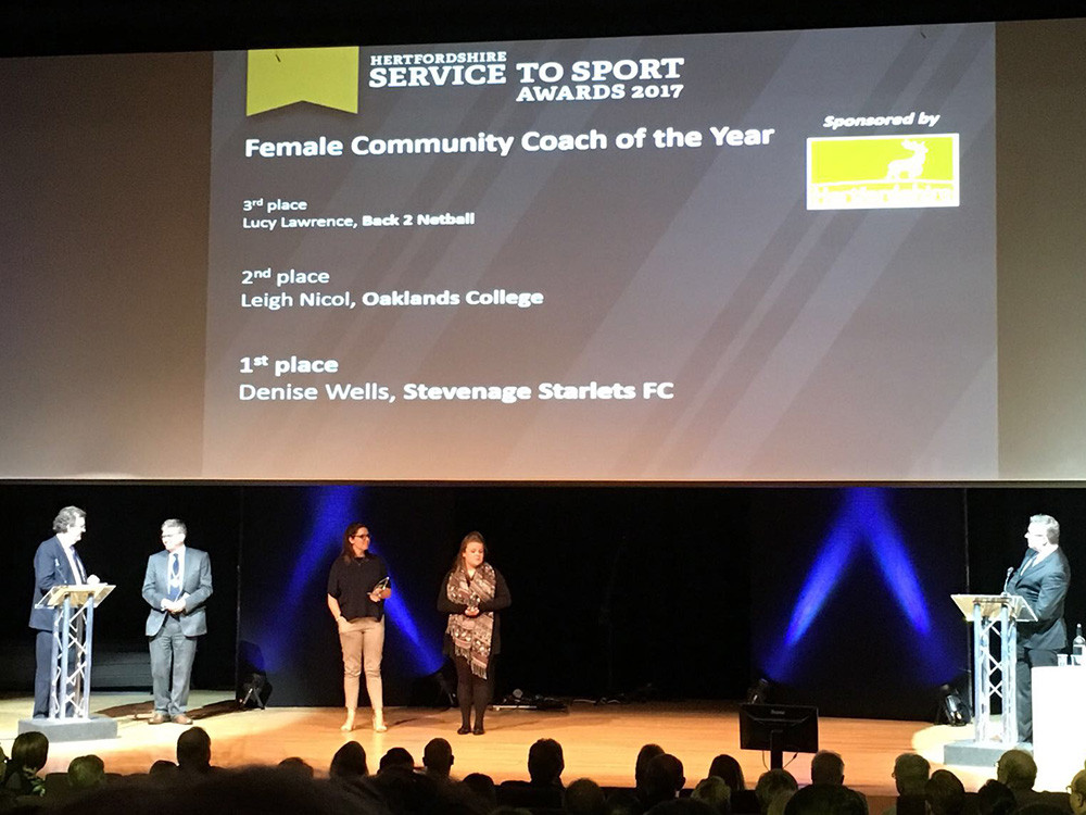 Award Winning Starlets Coach Aims to Inspire
