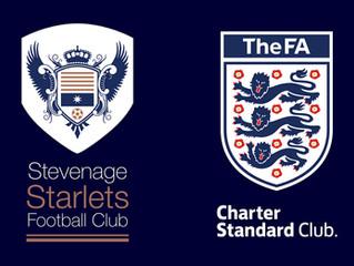 We're an FA Charter Standard Club