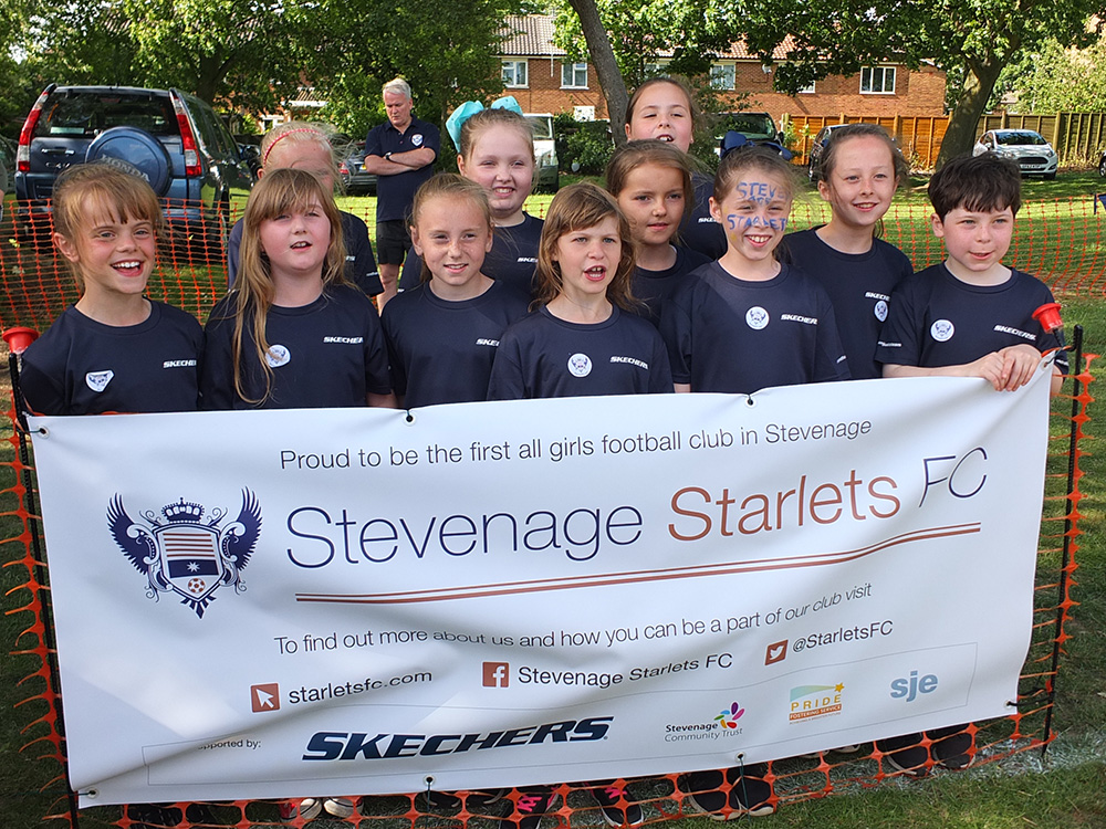 Launch at Stevenage Day