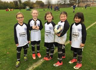 Celebrating Girls' Football Week