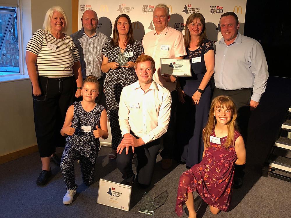 FA Grassroots Football Award Winners