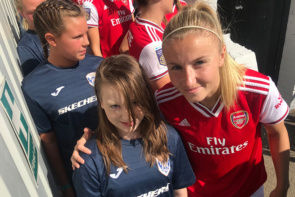 Starlets FC Arsenal Women Sister Club Matchday Experience 2019