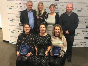 Starlets Score Awards Hat Trick