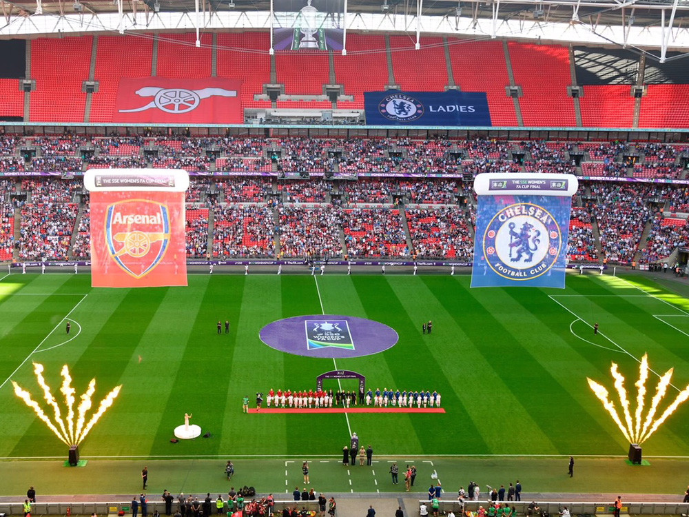SSE Women's FA Cup Final 2018 at Wembley