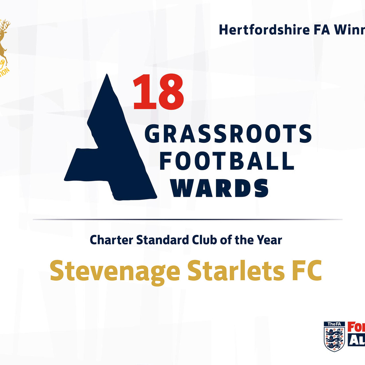 2018 Grassroots Football Awards