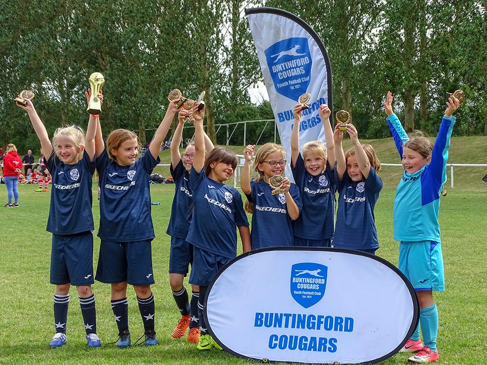 Starlets FC U8s Win at Buntingford Cougars Tournament