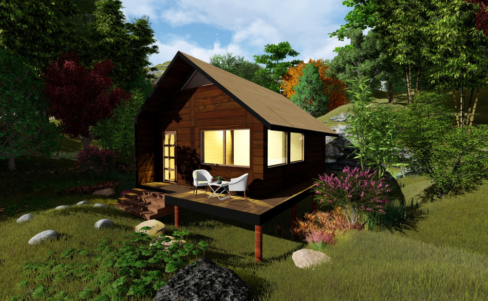 F3 Cabin 1