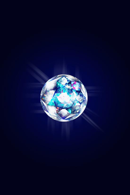 Broken gravity-3, G diamond, 100x150cm, C print, 2015