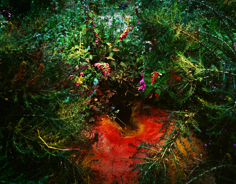 Untitled-1, Red hole, C print, 75x100cm, 2004