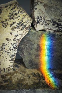 Fishhooks-33, Rainbow dendrites,40x60cm, C print, 2016