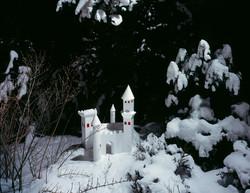 Tenseless-58, White castle, C print, 103x130cm,2008
