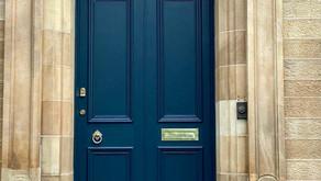 """New life for old doors"" | Pollokshields"