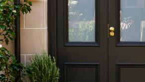 Bespoke Entrance Doors with glazed panels