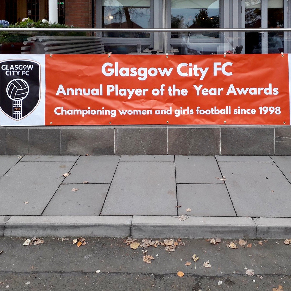 This year MWM Matt Window Mate is proud to be one of the sponsors of #gfcawards2019 Glasgow City Football Club in two categories: Player Player of the year and Most Improved Player of the year.