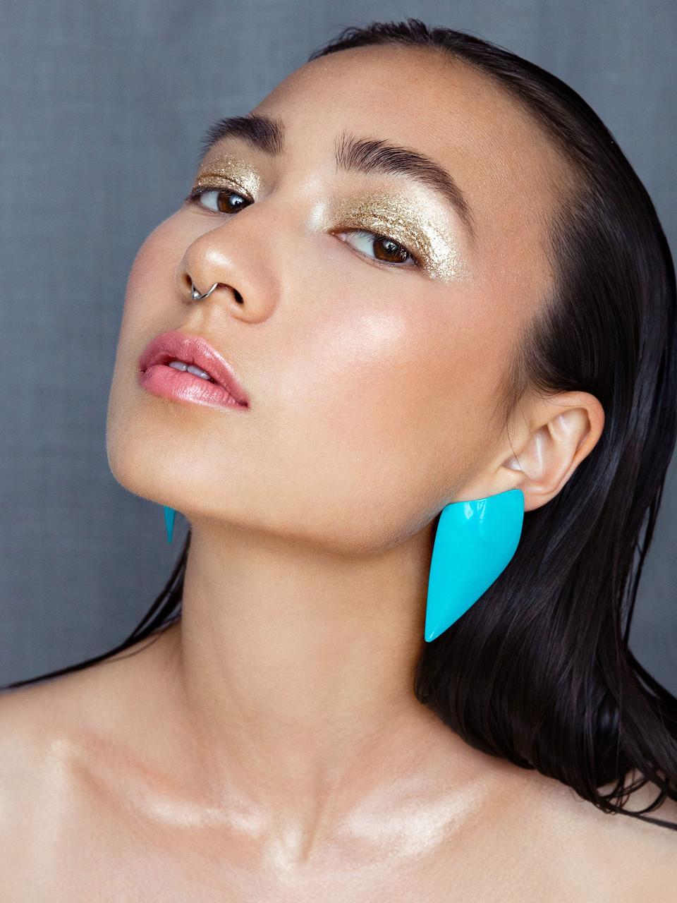 Model: Morgana Osaki Photo: Katie Wade Makeup: Gabrielle Williams