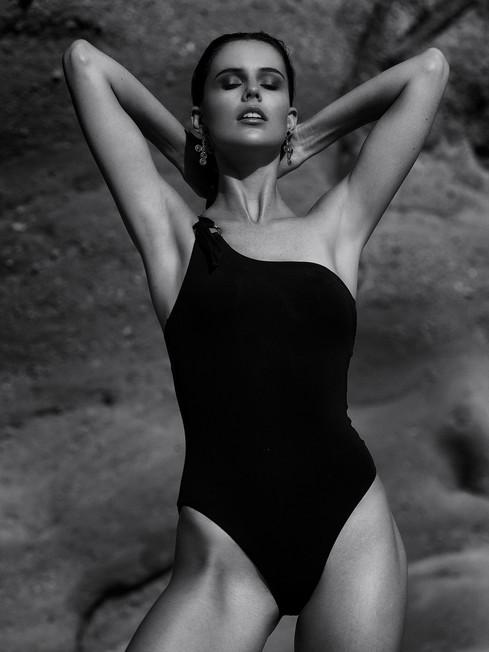Photo: Matt Briggs Model: Selina McCloskey H&MU: Gab Williams
