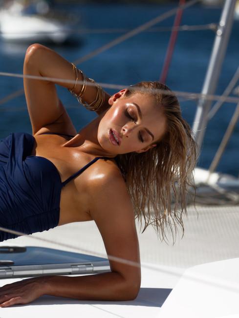 Model: Danielle Gillies Makeup: Gabrielle Williams Photo: Johanna Blinn Tan: The Brow and Lash Co Newcastle