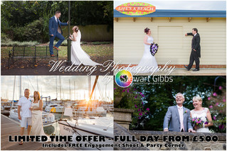 Full Day Wedding Photography - From £500.00