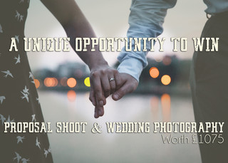 WIN a Proposal Shoot & Wedding Photography