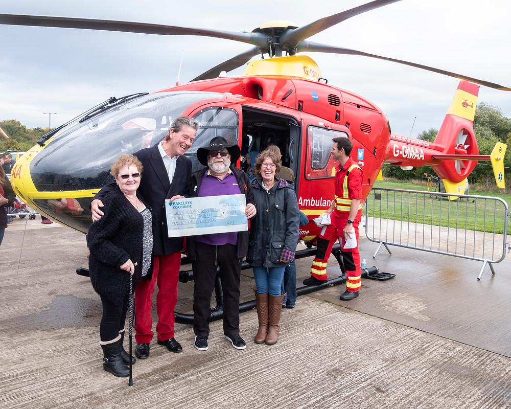 Midlands Air Ambulance Donation