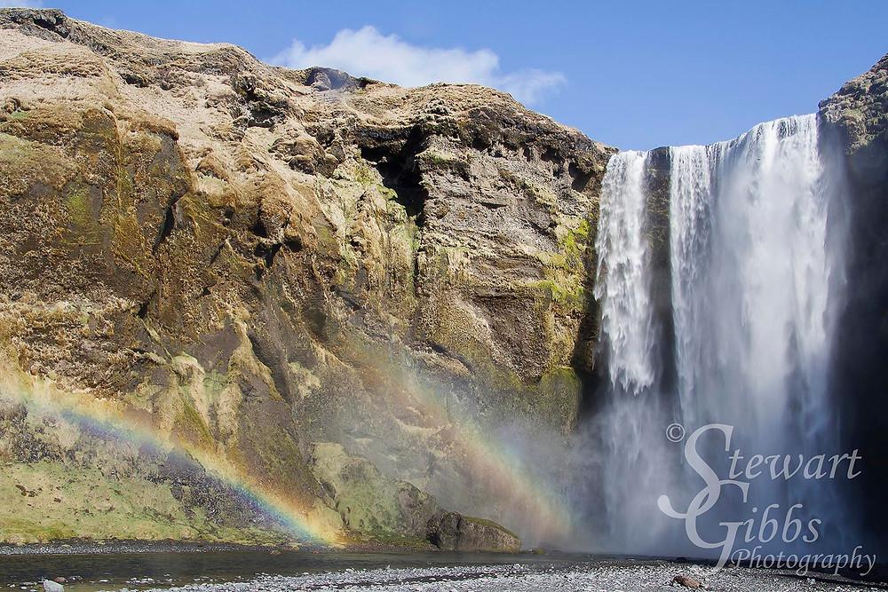 Skogafoss Waterfall, Iceland, April 2014.jpg